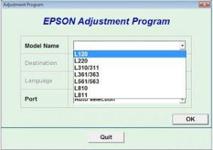 Cara reset Epson L Series