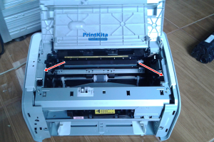 cara bongkar printer laserjet