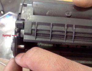 cara isi ulang refill printer laserjet