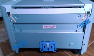cara bongkar printer hp p1102