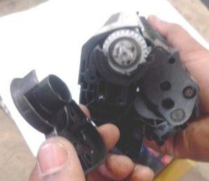 cara isi ulang printer laserjet