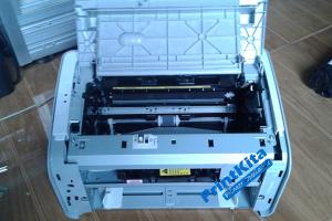bongkar printer laser