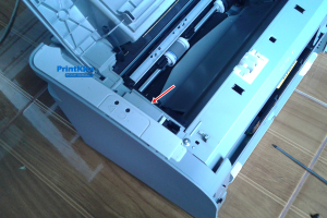 bongkar printer laserjet