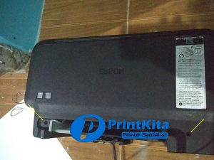 cara bongkar printer epson l120