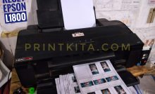 Epson L1800 A3 Photo Ink Tank Printer Review Dan Harga Terbaru